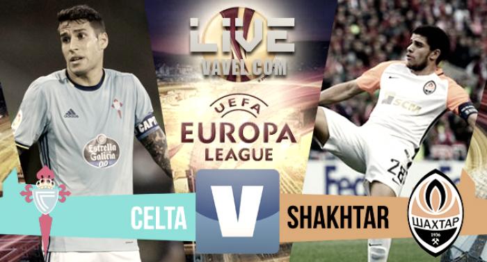 Partido Celta de Vigo 1-0 Shakhtar Donetsk en Europa League 2017