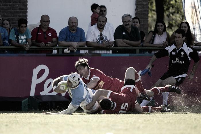 Canadá vs Argentina XV primer partido hacia el título