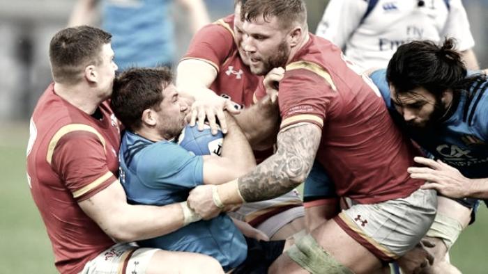 Gales demuestra superioridad y le gana a Italia