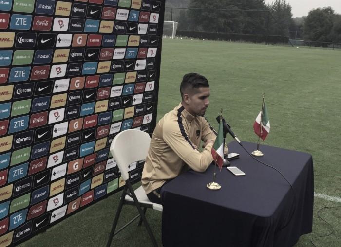 """David Cabrera: """"Siempre existe la presión en un equipo como Pumas"""""""