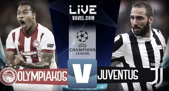 Resultado Olympiacos x Juventus pela Champions League (0-2)