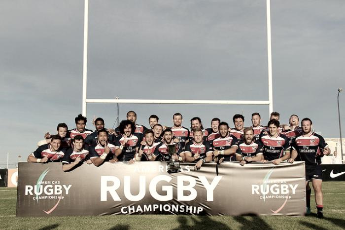 Estados Unidos, el campeón invicto del Americas Rugby Championship
