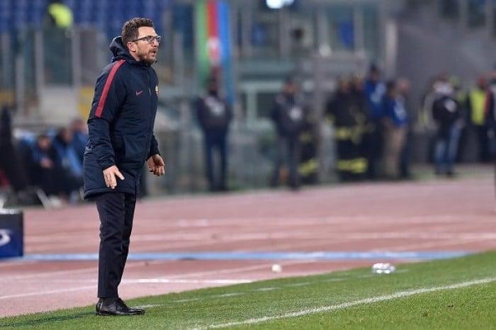 """Roma-Qarabag 1-0, Di Francesco: """"Grande impresa, la qualificazione è merito di tutta la squadra"""""""