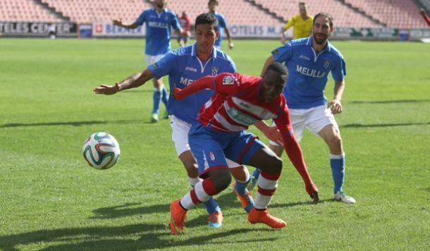 El Melilla-Granada 'B' se jugará el sábado 4 de abril a las 12,00 horas