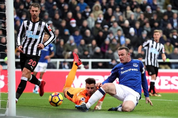 Premier League - L'Everton espugna di misura Newcastle (0-1): decide Rooney