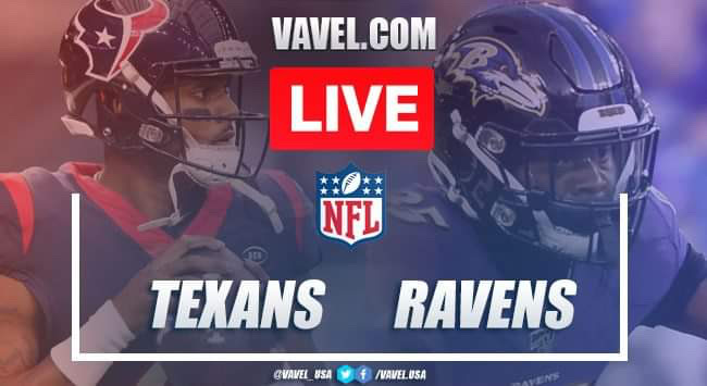 Houston Texans vs Baltimore Ravens: Live Stream Online TV Updates and How to Watch NFL 2019 (7-41)