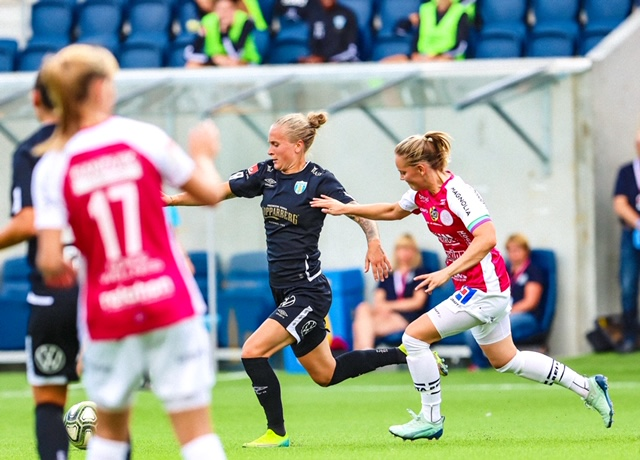 OBOS Damallsvenskan Round 6 roundup: Göteborg have a one-point advantage at the top
