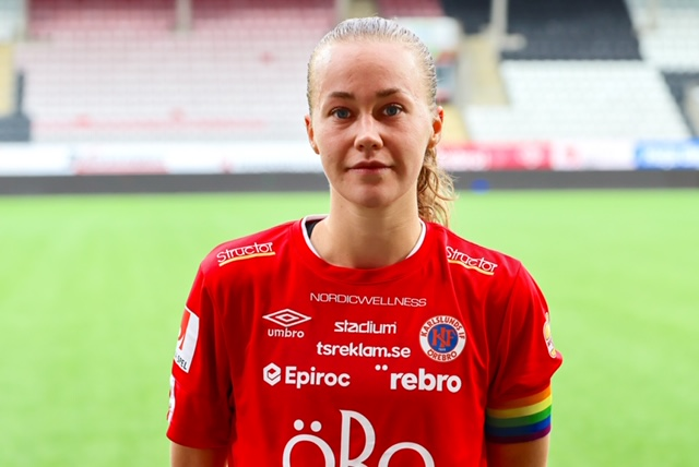 'Every game we play is important and we have to take them one at a time' - KIF Örebro's captain Frida Abrahamsson talks about the busy game schedule in the Damallsvenskan