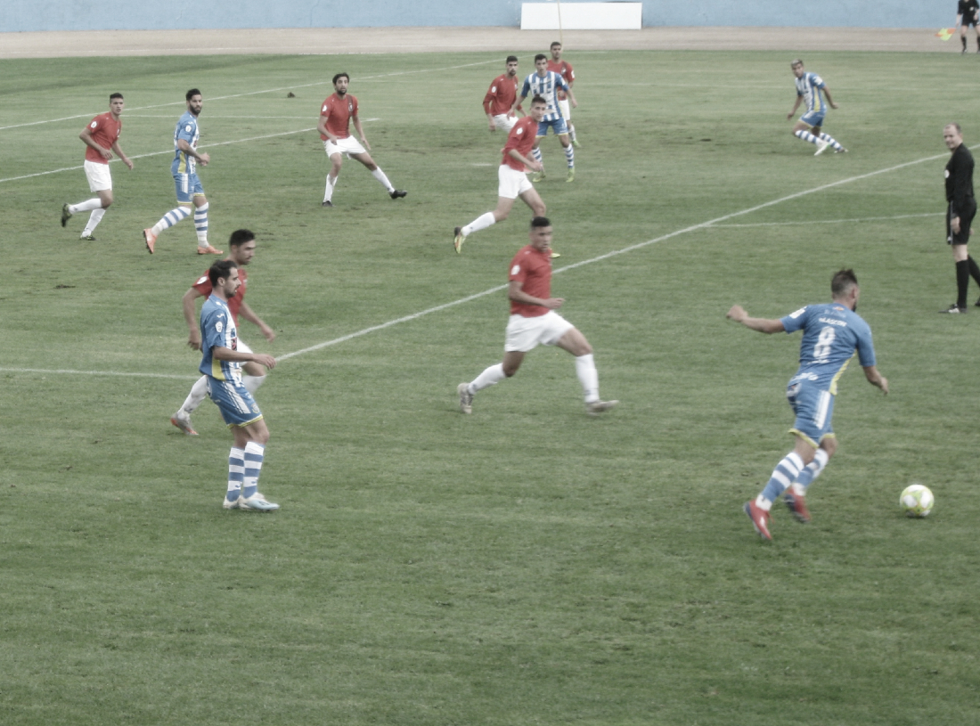 La Arandina durante el amistoso frente al Real Burgos | Foto: Rodrigo Calvo - Vavel