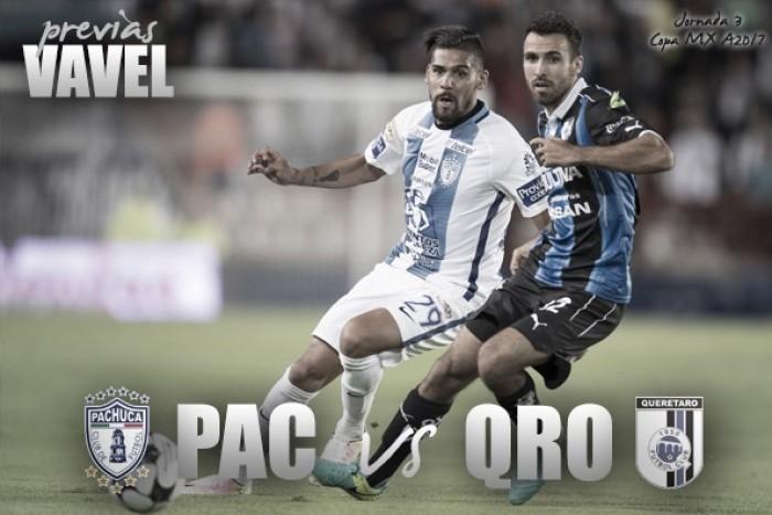 Previa Pachuca - Querétaro: a recomponer el camino