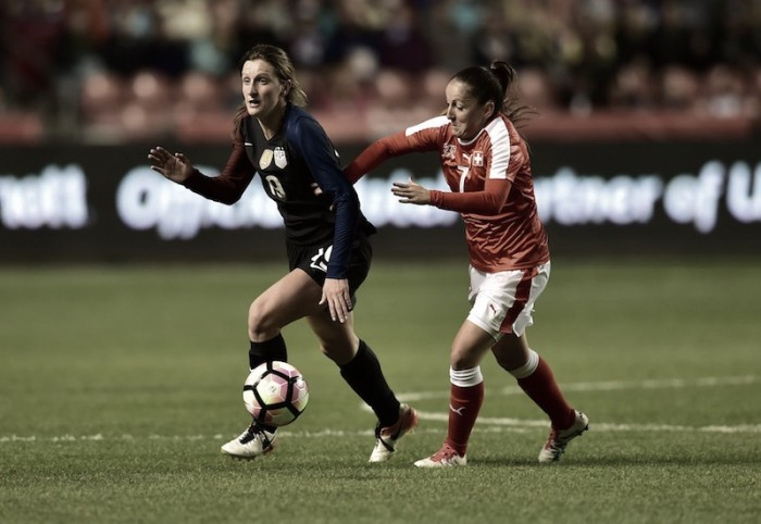 USWNT and Switzerland to meet in Minneapolis