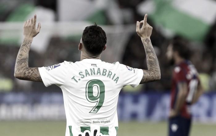 """Sanabria:"""" Mi competencia con Sergio es bastante sana y nos hará mejor a ambos"""""""