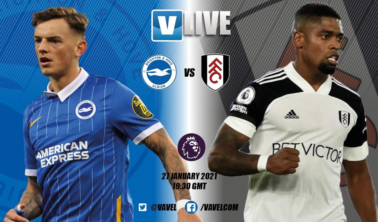 As it happened: Brighton & Hove Albion 0-0 Fulham