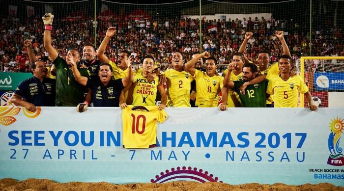 Ecuador y su fugaz estancia en el Mundial de Fútbol Playa