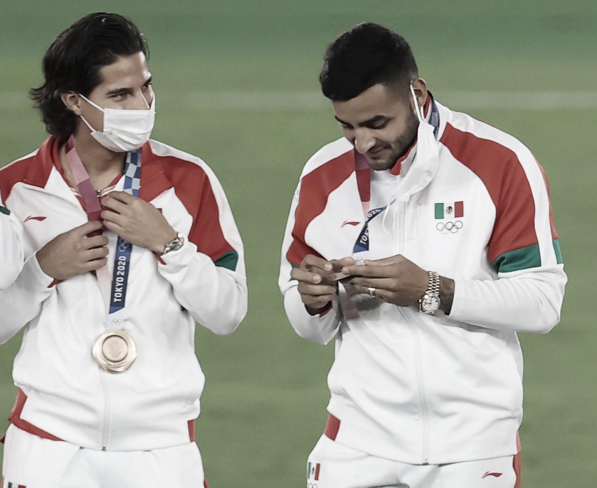 Diego Lainez consigue el bronce en Tokyo 2020