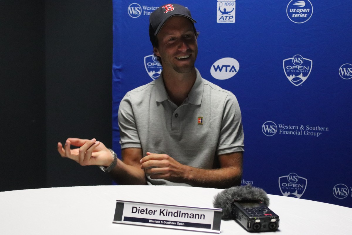 Coaches Corner: Catching up with Dieter Kindlmann, coach of Elise Mertens