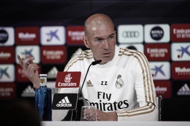 """Zidane: """"Son nueve victorias en nueve partidos. No se puede pedir más"""""""
