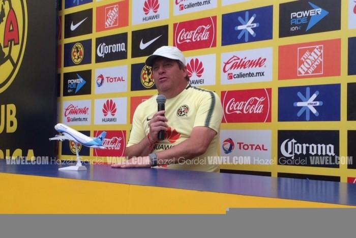 """Miguel Herrera: """"Ellos van de local pero eso no nos intimida"""""""