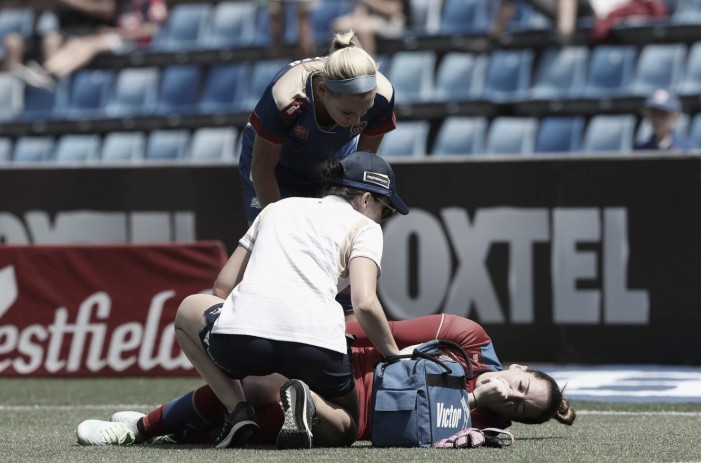 Kelsey Wys' ACL injury ends play with Newcastle Jets