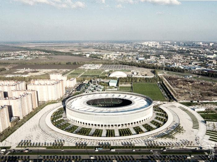 Krasnodar, sede de España en el Mundial de Rusia
