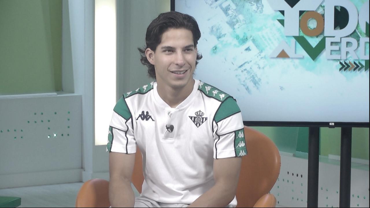 Diego Lainez vuelve a reportarse con Betis