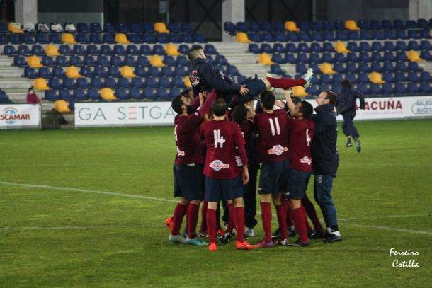 El Pontevedra es campeón de invierno