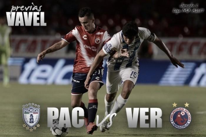 Golea Pachuca 4-1 a Veracruz en la Liga MX