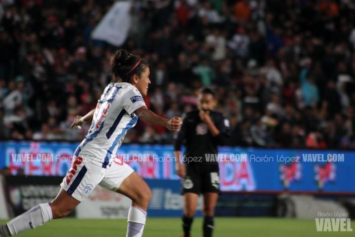 Fotos del Pachuca 2-0 Chivas en la Final de ida de la Liga Mx Femenil