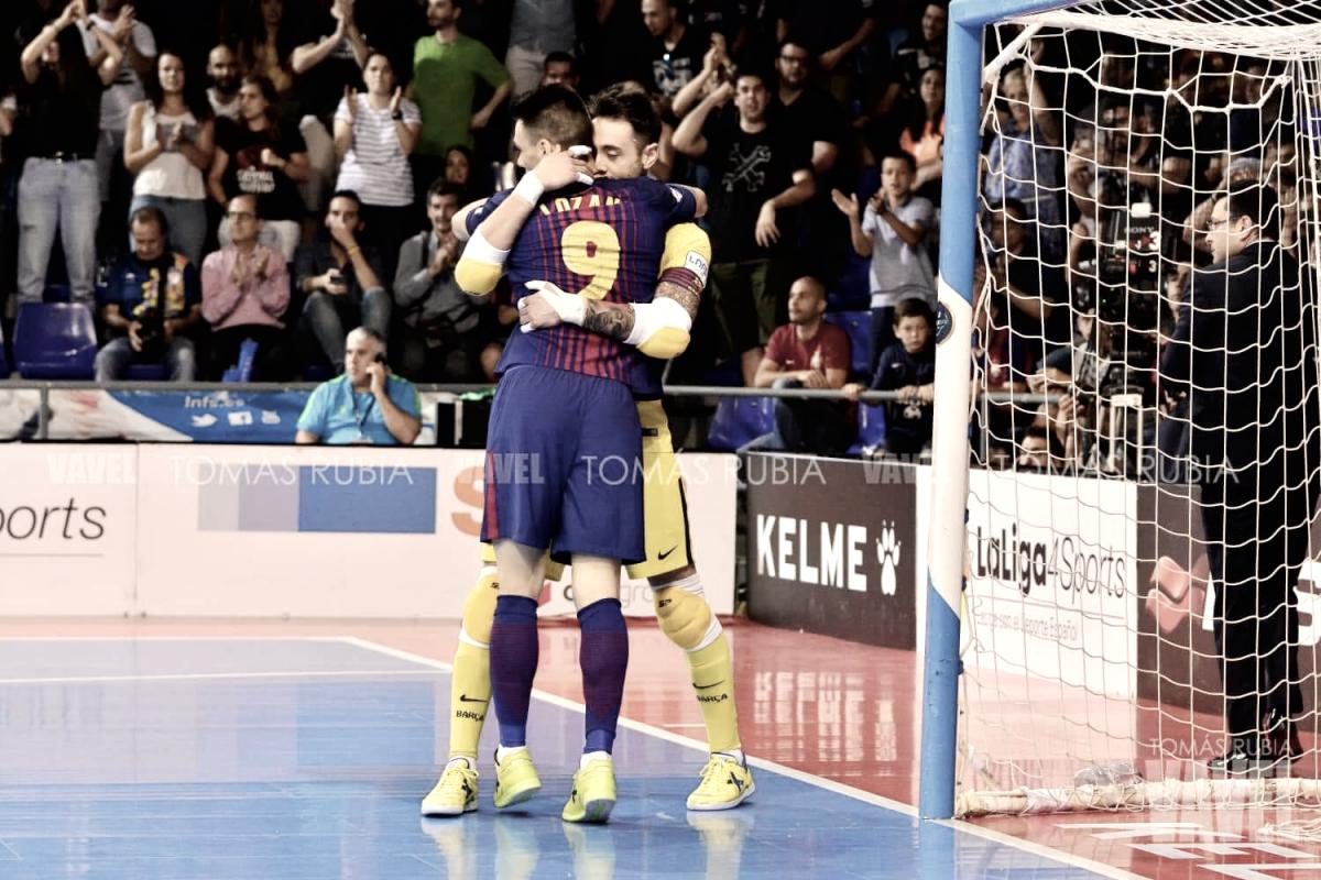 El Barcelona fuerza el cuarto partido