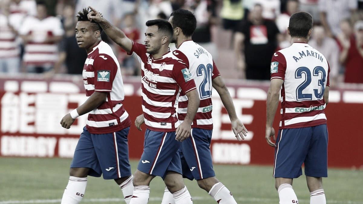 ¿Qué pasó en la ida en el Granada CF - Córdoba CF ?
