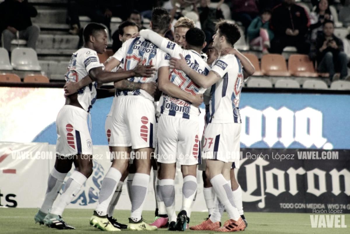 El camino de Pachuca en Copa MX