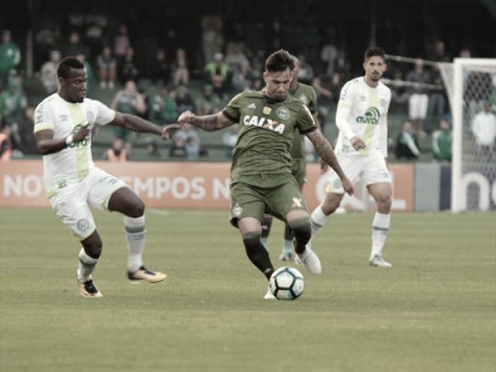 Libertadores ou rebaixamento: Chapecoense e Coritiba fazem jogo de vida ou morte na Arena Condá