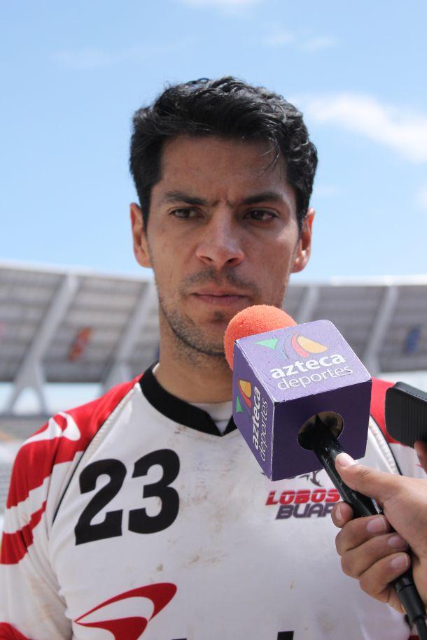 Alberto Lucio, motivado por trascender con Lobos BUAP
