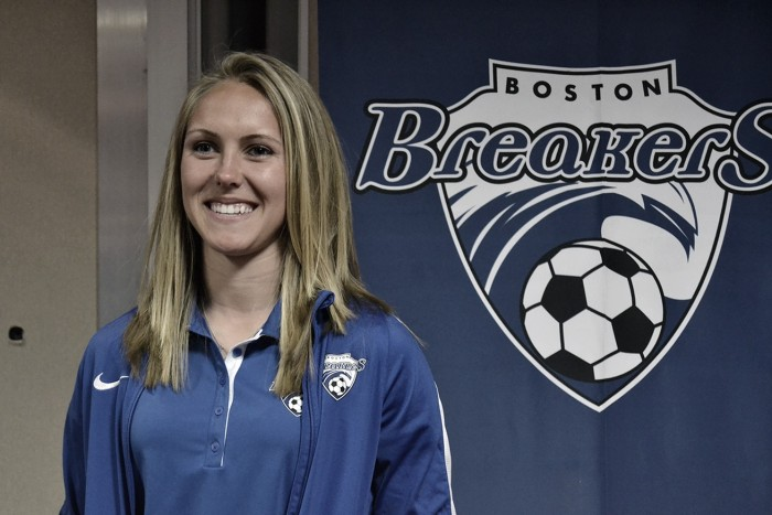 Boston Breakers waive forward Brittany Ratcliffe