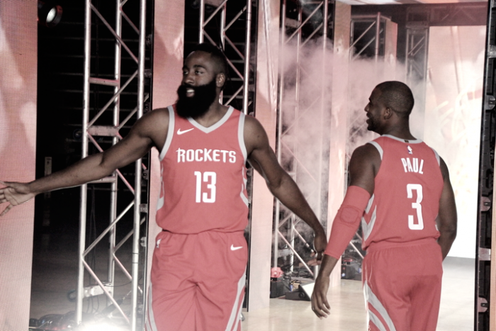 NBA Media Day - Le voci degli Houston Rockets