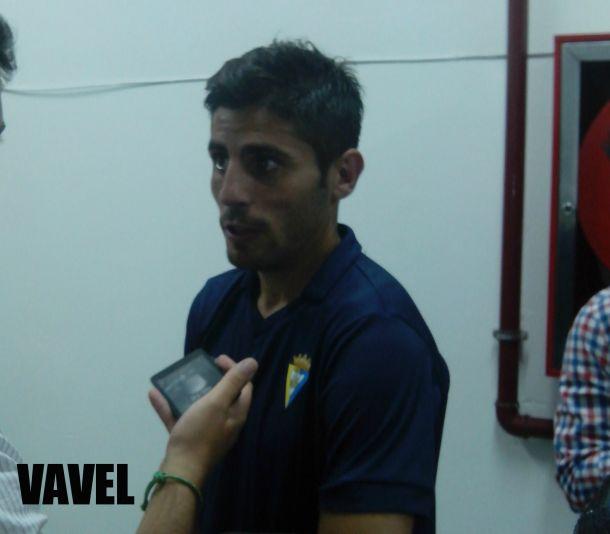 """Juanma Espinosa: """"Me he limitado a jugar con mi equipo y a los abucheos no les vamos a hacer mucho caso"""""""