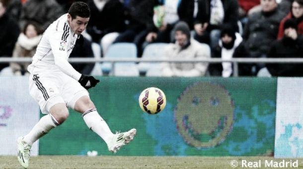 Dos asistencias de James para mantener al Madrid en la cima