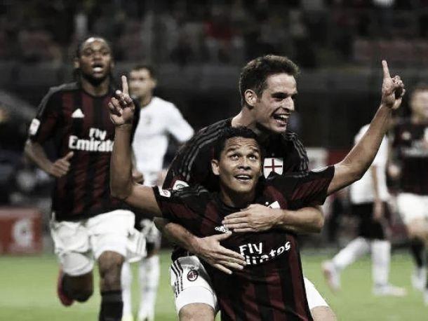 Doblete de Carlos Bacca para la victoria del Milán