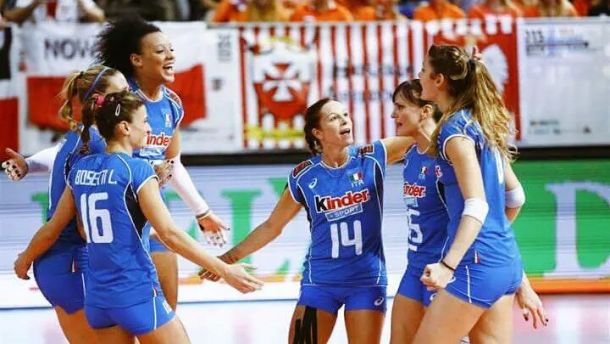 Campionato Europeo di volley femminile: Italia batte Polonia 3-1