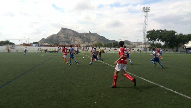 Imperial y Lorca Deportiva empatan en Santomera