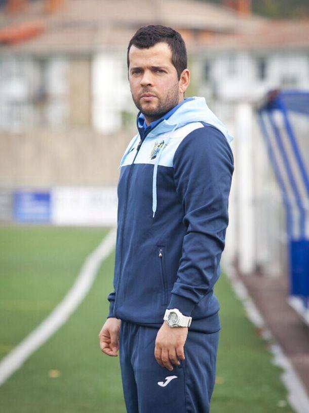 """Gorka Valle, técnico del Aretxabaleta: """"Aunque estábamos compitiendo todos los partidos, siempre viene bien una victoria"""""""