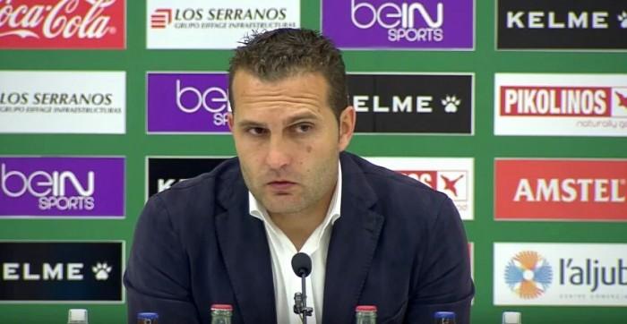 "Rubén Baraja: ""Seguimos con la misma ambición"""