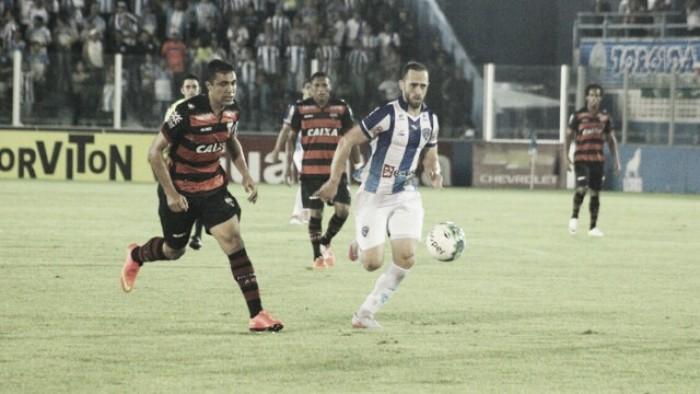 Buscando se manter na liderança, Atlético-GO enfrenta temeroso Paysandu