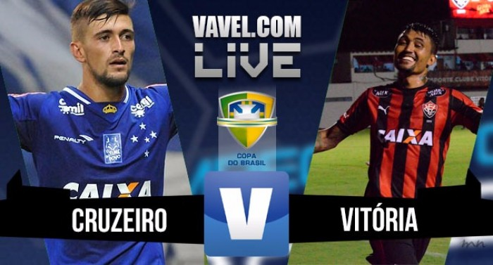 Resultado Cruzeiro X Vitória na Copa do Brasil 2016 (2-1)