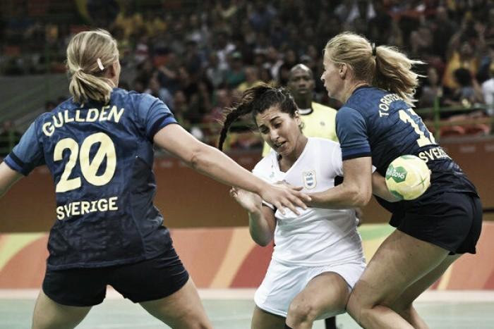 La Garra no pudo con Suecia en su debut olímpico