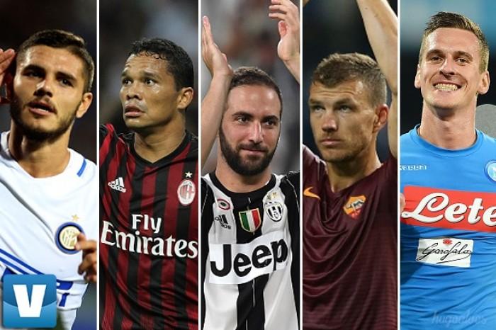 Atacantes se destacam no início da Serie A e prometem briga acirrada pela artilharia