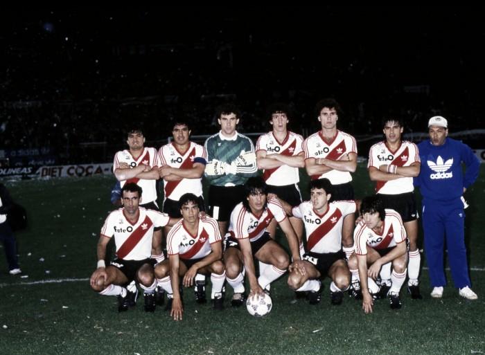 A 30 años de la primera Libertadores