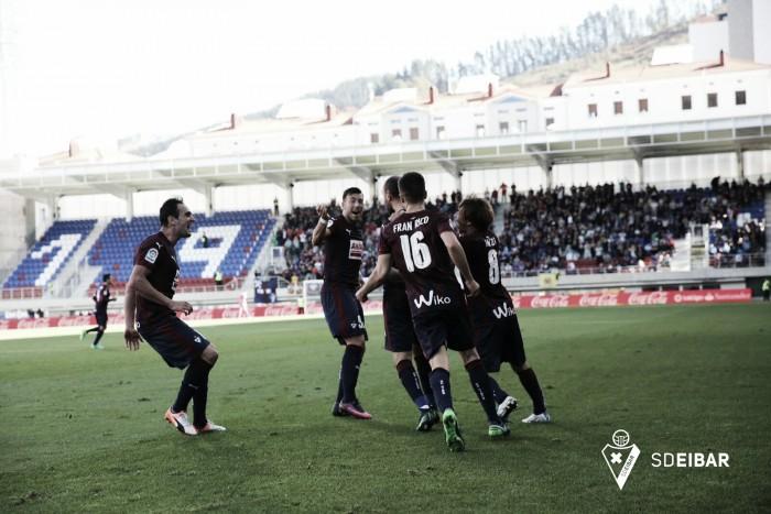 Eibar acaba com invencibilidade do Villarreal e encosta nos líderes