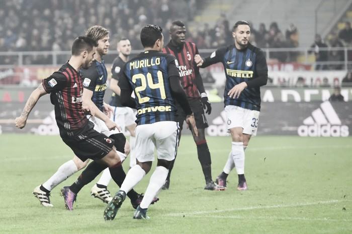 Suso marca dois, mas Milan recua no segundo tempo e cede empate à Inter nos acréscimos