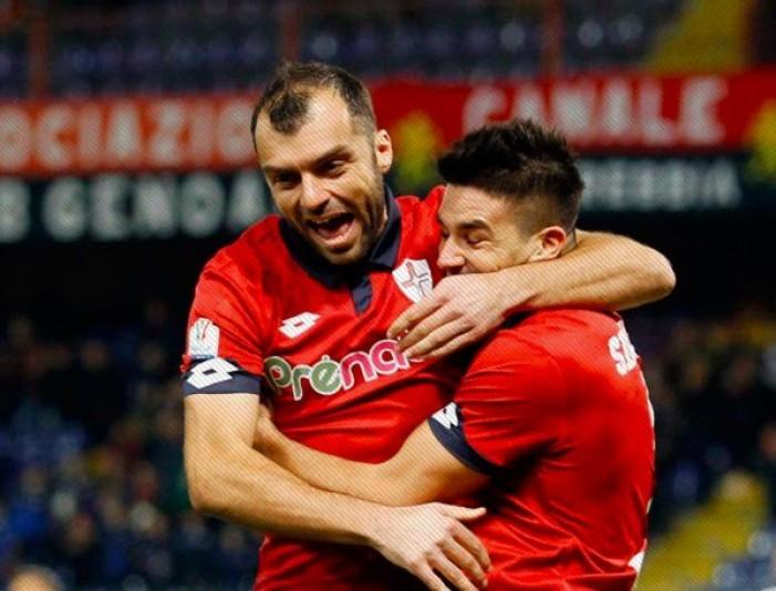 Coppa Italia - Perugia, il cuore non basta: Pandev e Ninkovic mandano il Genoa agli ottavi